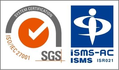 ISMS認証のロゴマーク
