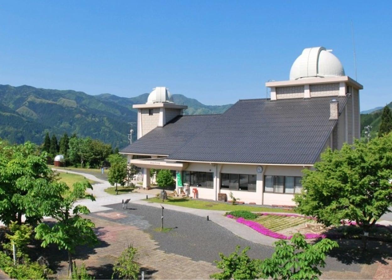 鳥取市さじアストロパーク佐治天文台の外観